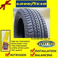 Goodyear Eagle F1 Asymmetric SUV AT tyre tayar tire  (with installation) 235/65R17 255/60R18 255/55R19 255/50R20