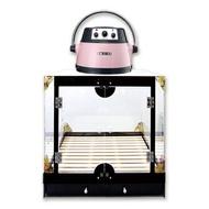雅芳 YH-808C 箱型紅外線寵物烘毛機(銀色/粉色)