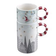 [星巴克] 銀白耶誕可疊馬克杯組. 原價750