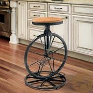《Chair Empire》loft美式鄉村 家具 歐式時尚 鐵藝吧椅 升降旋轉酒吧椅 實木吧台椅 做舊鐵藝