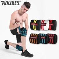 2 ชิ้น 200*8 เซนติเมตรเข่าห่อออกกำลังกายผู้ชายยกน้ำหนักกีฬาเข่าผ้าพันแผล squats อุปกรณ์การฝึกอบรมอุปกรณ์เสริมสำหรับยิม (hy18h0078)