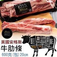 1855 黑安格斯牛肋條 牛腩條 進口肉品 真空包裝 財神市集 冷凍食品