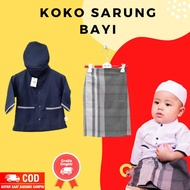 Baby Koko Clothes 0 6 Months Suitable For Aqiqah Baby Boy Or Newborn Gift - Dongker Blue