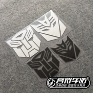 Notes Car Auto Reflective Car Sticker Transformers Autobottle Accessories