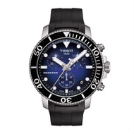 TISSOT 天梭手錶Seastar 1000海洋之星T1204171704100 三眼計時 正品開立發票實體店面 男錶