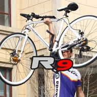 RALEIGH England variable speed road bike double disc brake adult off-road racing bike unisex ultra-light aluminum alloy road bike-bicycle