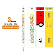 ANMONE For apple pencil 1 2 stickers Touch Stylus pen sticker Non-slip Protective paper Scratchproof Ultra Thin Painted stickers