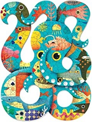 DJECO Puzz Art Octopus Jig Saw Puzzle