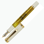 PELIKAN百利金 Souverän Fountain pen透明黃14k鋼筆M401