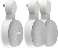 Outlet Wall Mount Holder for Google Home Mini and Google Nest Mini, Perfect Space-Saving Cord Management for Google Home Mini Voice Assistant (3 Pack)