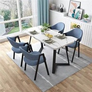 DINING TABLE SET WITH 4 SEATER