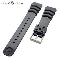 Applicable to Citizen citi5 watch strap 18-22mm corrugated silicone strap watch accessories