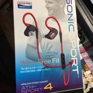 二手鐵三角藍牙運動耳機