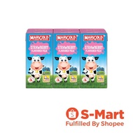 MARIGOLD UHT STRAWBERRY MILK 200ML x 6