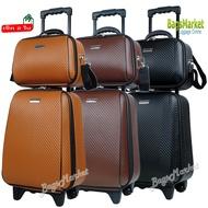 """ด่วน ของมีจำนวนจำกัด Bagsmarket Luggage กระเป๋าเดินทาง กระเป๋าล้อลากเซ็ท 2 ใบ 16""""+12"""" Luxury Style ใบเล็กมีสายสะพาย ของมันต้องมี!"""