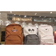 MINISO backpack we bare bears