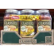 [好市多代購/請先詢問貨況]CLASSICO PASTA SAUCE 番茄起司義大利麵醬 680G * 3入