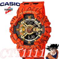CASIO GSHOCK นาฬิกาข้อมือแฟชั่นในรูแบบ Dragon Ball รุ่น GA-110JOB-1A4 สุดฮอต