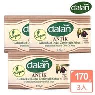 【dalan】頂級76%橄欖油傳統手工皂(3入)