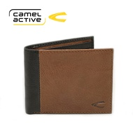 camel active Men Casual Bifold Genuine Leather Wallet (SW6843BE#BLK)