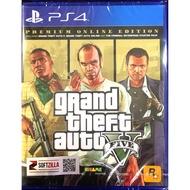PS4 GTA 5 Grand Theft Auto V Premium Online Edition {Zone 3 / Asia / English}