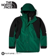 【The North Face 男 ICON 防水防風外套(美版)《綠/黑》】4R52/衝鋒衣/防水外套/風雨衣