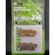 Elig Brake pad for KYMCO LIKE 150i (Rear) / KYMCO RACING 180