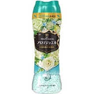 日本版【P&G】HAPPINESS幸福寶石衣物芳香粒 香香豆520ml 翡翠花香