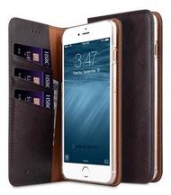 Melkco. - Apple iPhone 8 Plus / 7 Plus Herman 系列高級真皮手機套 (咖啡色)