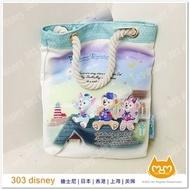 現貨*日本迪士尼海洋限定15周年達菲shelliemay 畫家貓 手提袋 【303disney 日本代購】