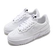 Nike 休閒鞋 AF1 Pixel 運動 女鞋 解構主義 質感 簡約 皮革 穿搭 白 黑 CK6649100 CK6649-100