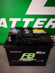 FB Battery แบตเตอรี่ รถยนต์ รุ่น GOLD DIN 65LN2 L (DIN65-SMF) ขั้วซ้าย L แบตเตอรี่ชนิด Maintenance-Free ใม่ต้องเติมน้ำกลั่นตลอดอายุใช้งาน รับประกันโดย Siam Battery