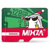 Mixza Christmas Shark Limited Edition 128GB U1 Class 10 TF Micro Memory Card for DSLR Digital Camera TV Box MP3
