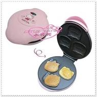 小花花日本精品 Hello Kitty 蛋糕機 鬆餅 鬆餅機 餅乾DIY造型雞蛋糕 頭型模具23010505