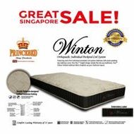 Winton Individual Pocketed Spring Queen Size Mattress