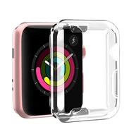 EverToner On sale Case For Apple Watch SE Series 5/4【40mm&44mm 】Series 1/2/3【38mm&42mm】Clear Case TPU Screen Protector All Around Protective Case High Definition