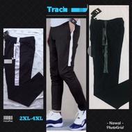 Big size tracksuit | seluar track size besar | plus size tracksuit | seluar trek