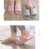 10.10 Home Hotel Slippers Comfortable Soft Indoor Striped Slipper Shoes SP002