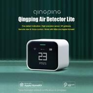 Qingping Detektor Udara Lite CGDN1 CO2 PM2.5 PM10, Monitor Kelembaban Temperatur BT Gateway Pengisian Daya USB Bekerja dengan Mijia APP Apple HomeKit Kontrol APP