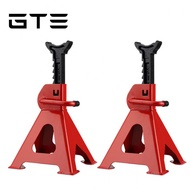 GMSHOP 3T 2pcs Thickened Car Jack Stand Repair Tool Adjustable Heavy Height Duty Floor Metal Jacks Jek Kereta ??? ?????