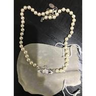 VIvienne Westwood珍珠頸鍊