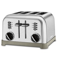 Cuisinart Stainless Steel, 4-Slice Toaster, Brushed Stainless