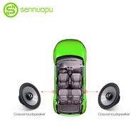 Sennuopu Car Coaxial Speaker 6.5 Inch Tweeter Full Range Subwoofer Audio System