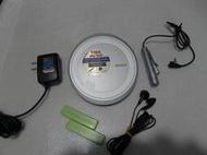 sony索尼CD機D-EJ1000 超薄CD隨身聽播放器9成多新