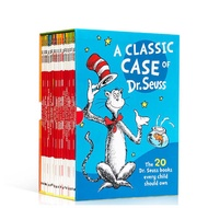 Dr.Seuss A classic case box set 20 books with CD