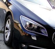 《※金螃蟹※》寶馬 BMW 7 F01 2009年~UP 系列 鍍鉻 大燈框