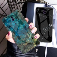 discount Phone Case for OPPO Reno Z Case for OPPO Reno 10x Zoom Cover Marble Tempered Glass Silicone
