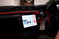 จอ Android Toyota Revo ขนาด 10 นิ้ว Alpha Coustic Android 10 Ram 2 Rom 32 CPU 8 core