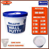 SELLEYS Wall Putty Wall Filler  (White)