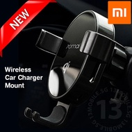 Xiaomi 70MAI Qi Wireless Car Charger Mobile Phone Gravity Mount Holder Charging Protection